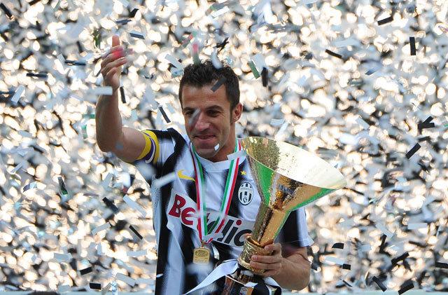 Méltón búcsúzott az Öreg Hölgytől Del Piero - Fotó: AFP