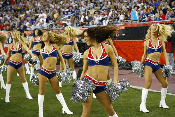 A Patriots Cheerleaderei