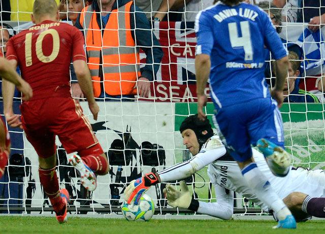 Robben szerepében klasszikus bűnbak is akadt - Fotó: AFP