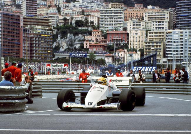 Senna és Monaco neve egybeforrt - Fotó: AFP
