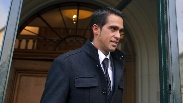 Alberto Contadornak nem lesz könnyű éjszakája vasárnap - Fotó:faz.net