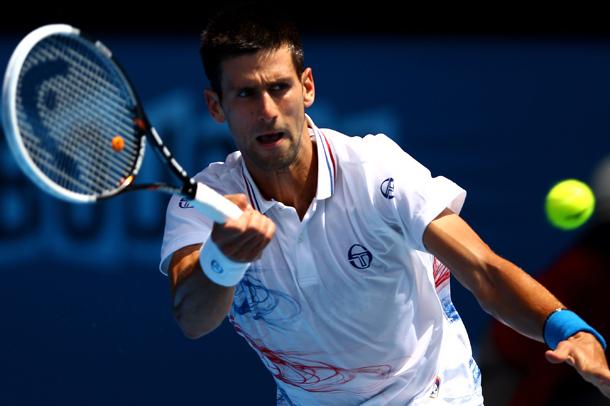 Djokovics eddig kevés időt töltött el a pályán Melbourne-ben - Fotó: australianopen.com