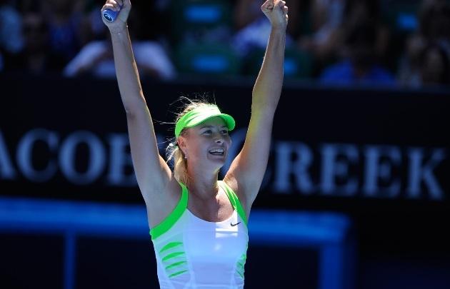 Sarapova harmadszor jutott be az Australian Open döntőjébe - Fotó: australianopen.com