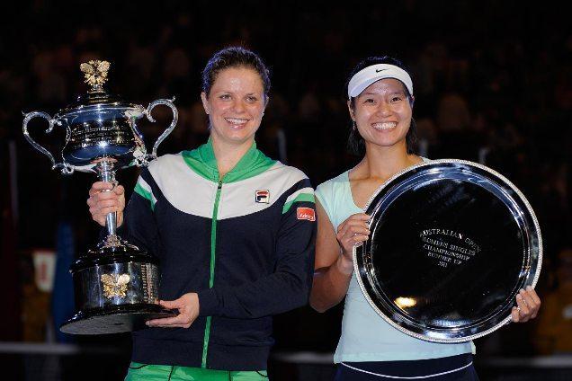 Li Na tavaly az elveszített döntő ellenére is tudott mosolyogni az Australian Openen - Fotó: tennispanorama.com