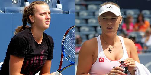 Kvitová és Wozniacki nagy harca várható Melbourne-ben - Fotó: heraldsun.com.au