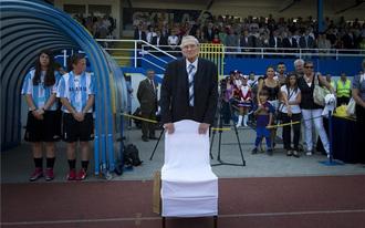Grosics Gyula nevét viseli a tatabányai stadion
