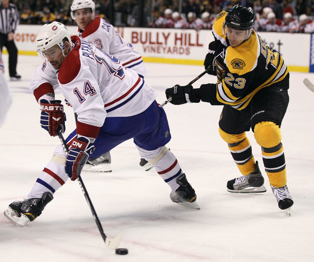 A Boston Bruins Montreal Canadiens elleni meccse