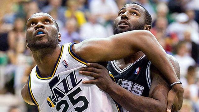 Al Jefferson, a Utah Jazz centere