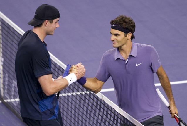 Federer most John Isnertől kapott ki, ráadásul hazai közönség előtt - Fotó: Victor Fraile - Getty Images