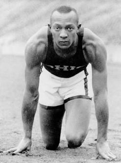 Jesse Owens kiváló atlétikus képességeinek köszönhette sikereit - Fotó:olympic.org