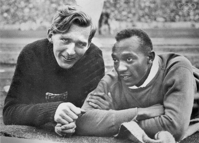Luz Long és Jesse Owens sportbarátsága az olimpiák történetének egyik legszebb története - Fotó: olympic.org