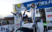 Ogier legyőzte Loeböt Svédországban
